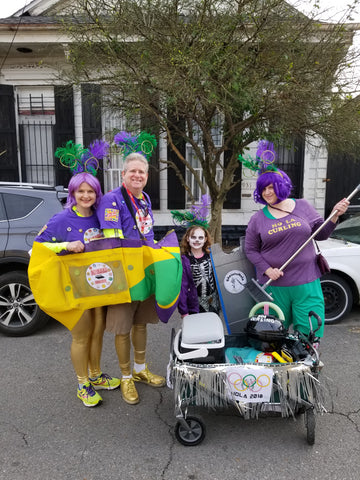 The NOLA 2018 Winter Olympics Team, Mardi Gras Day