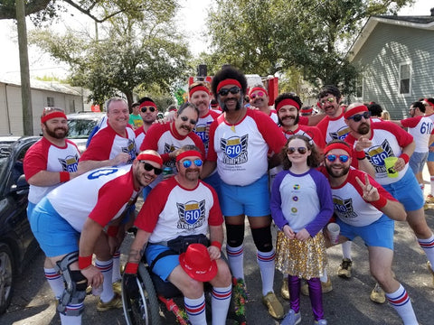 610 Stompers at Krewe of Thoth, 2020