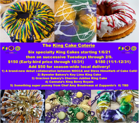 King Cake Coterie 2021