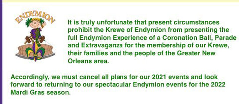 Endymion Announcement