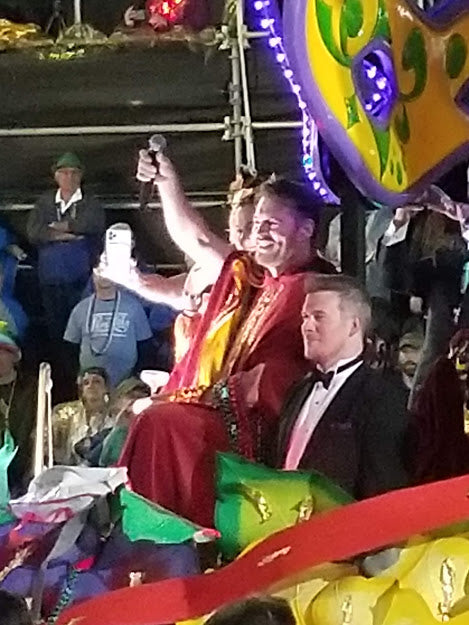 Harry Connick Jr at Krewe of Orpheus