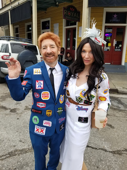Harry Shearer and Judith Owen, Mardi Gras 2020