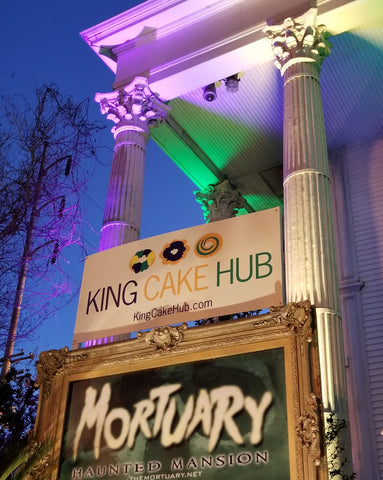 King Cake Hub at the Mortuary Haunted House