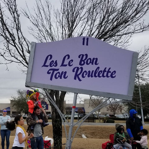 Sign from Little Rascals Parade