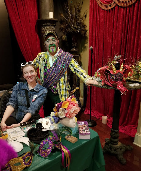 Lunch & Learn: Grand Marshal Marty Graw with Nola Craft Culture's Nori Pritchard, 2/18/20