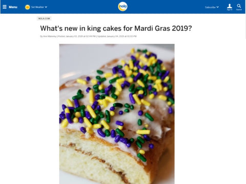 Nola.com Whats New in King Cakes