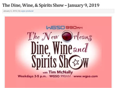 WGSO Dine Wine and Spirits Show