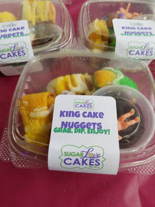 SugarLove King Cake Nuggets