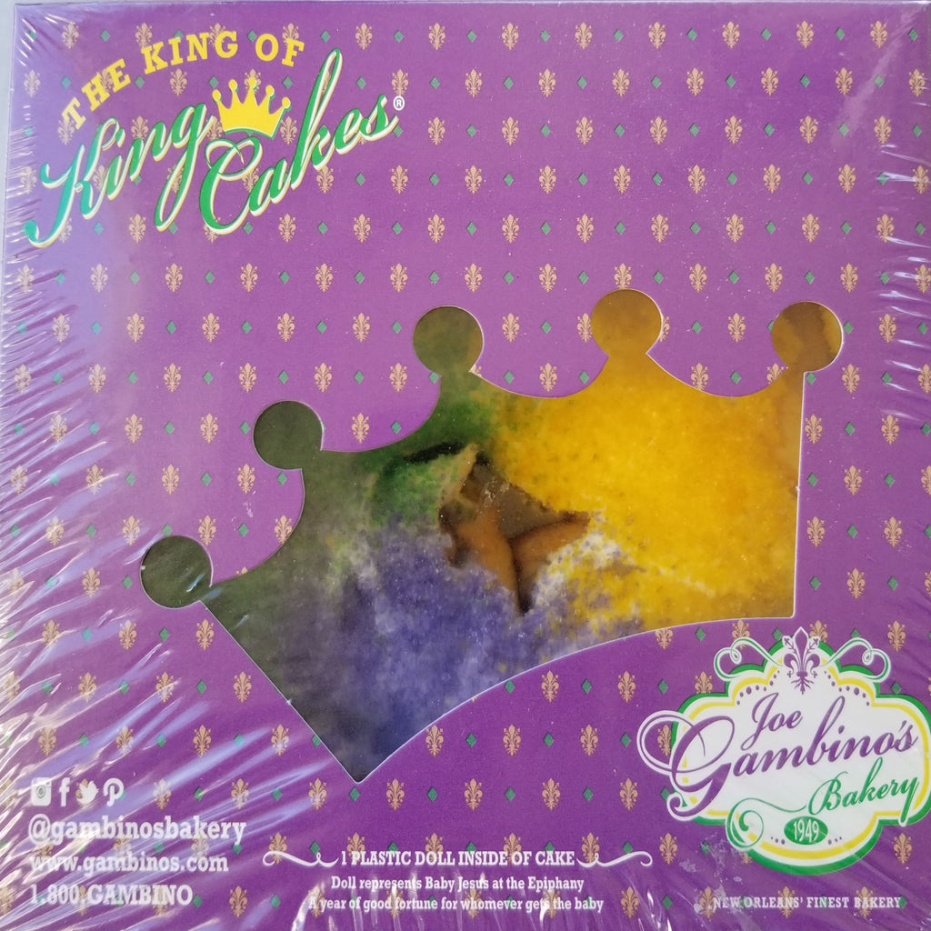 Gambino's Mini King Cake
