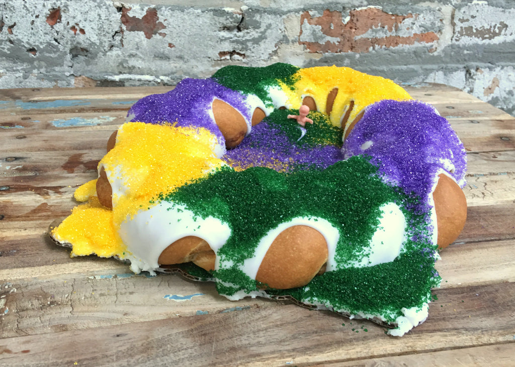 Bittersweet Confections Traditional Cinnamon Mini King Cake
