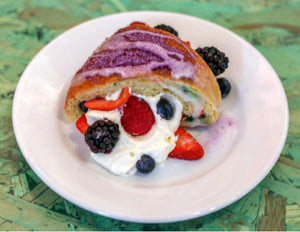 Chantilly King Cake from Bywater Bakery