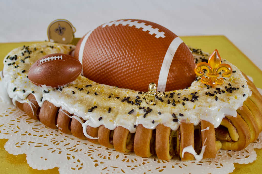 Cannata's Who Dat King Cake