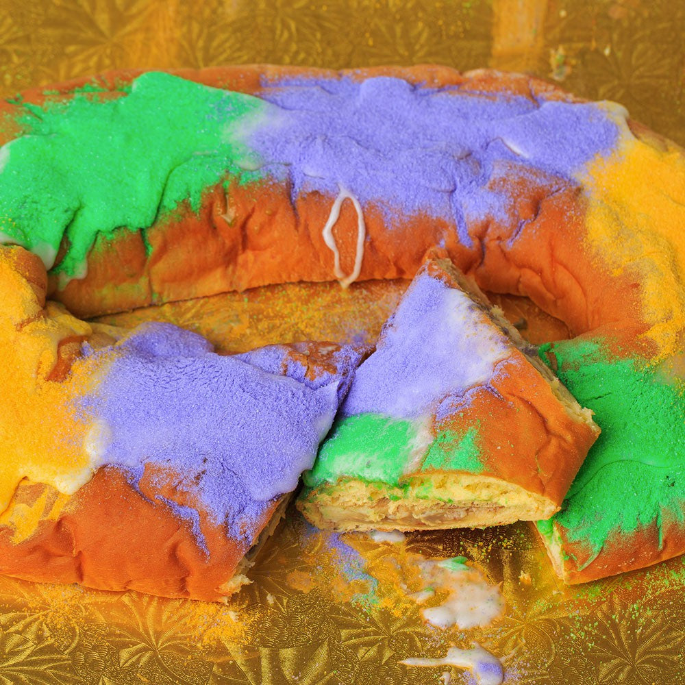 Gambino's Two-Filling King Cake- Decorate it Yourself!