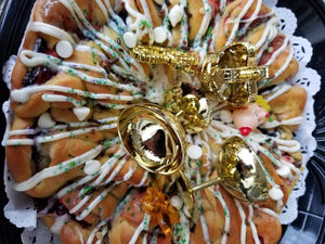 King Cake Coterie (King Cake of The Week Club) 2021- LOCAL DELIVERY option