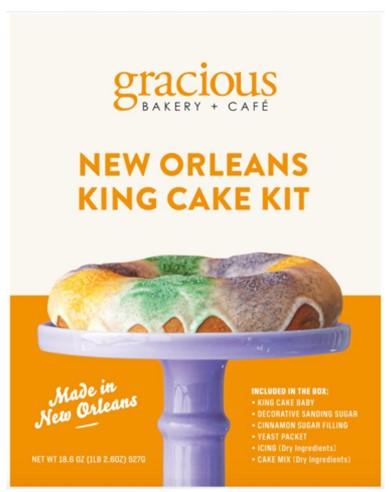 Gracious Bakery King Cake Kit