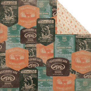 12x12 Designer Paper: Outdoor Trail (Timber)