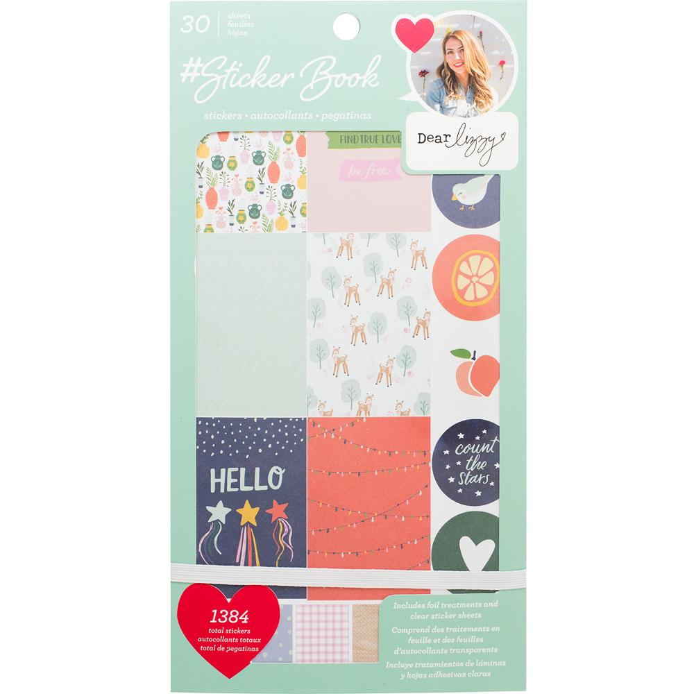 Sticker Book: Dear Lizzy (Rose Gold)