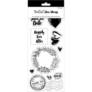 Bella! Wedding Clear Stamps: True Romantic