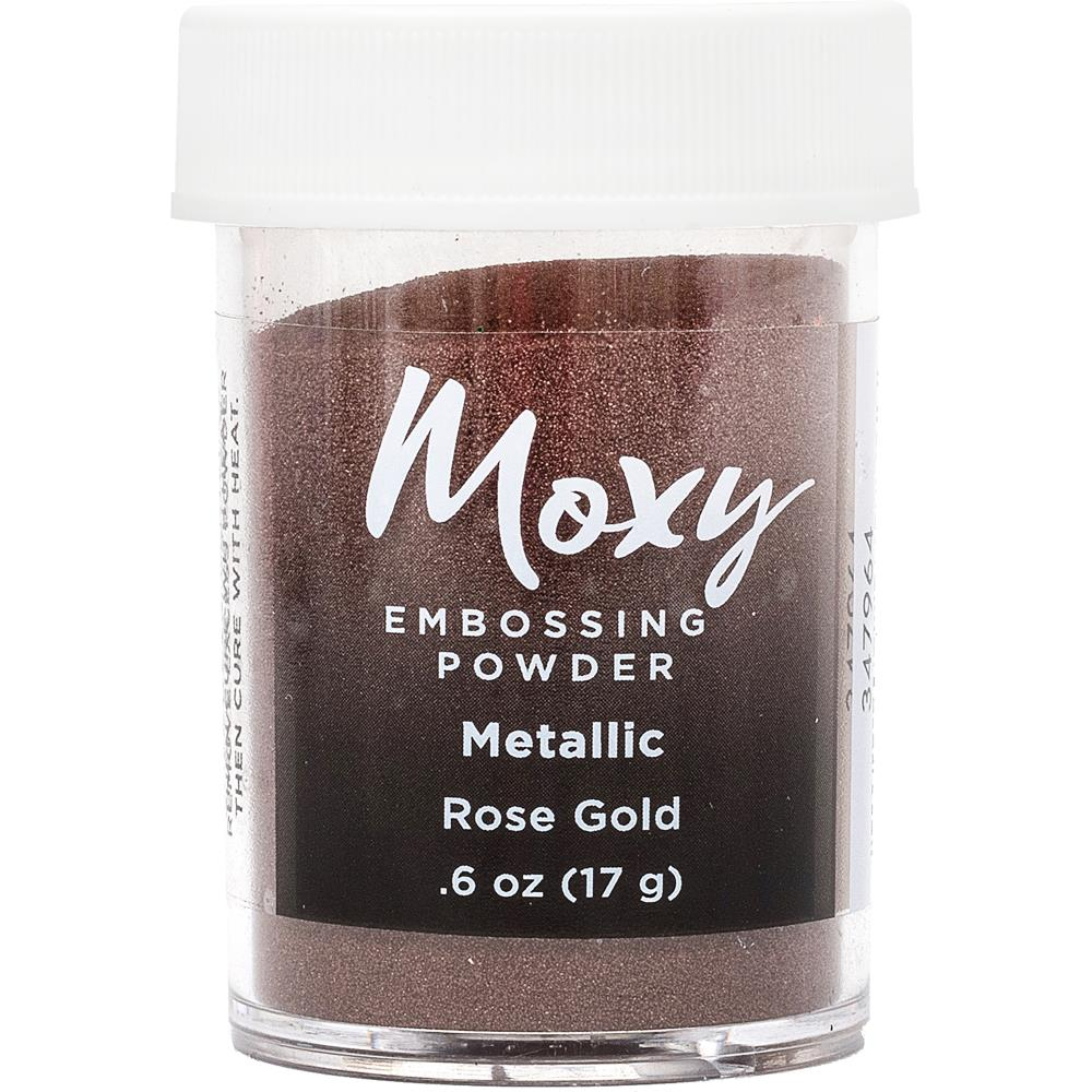Metallic Rose Gold Embossing Powder
