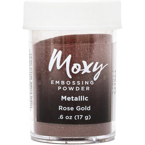 Embossing Powder: Metallic Rose Gold