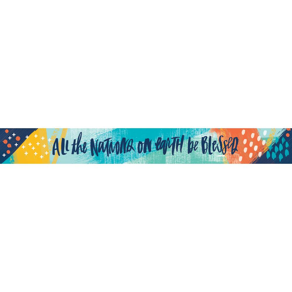 Washi Tape: All People All Nations