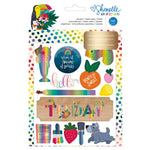 Sticker and Washi Book: Shimelle Box of Crayons