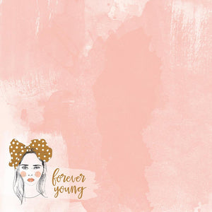 12x12 Designer Paper: Boho Dreams (Young)