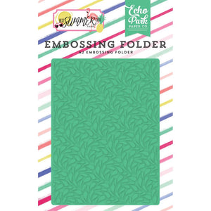 A2 Embossing Folder: Best Summer Ever (Summer Splash)