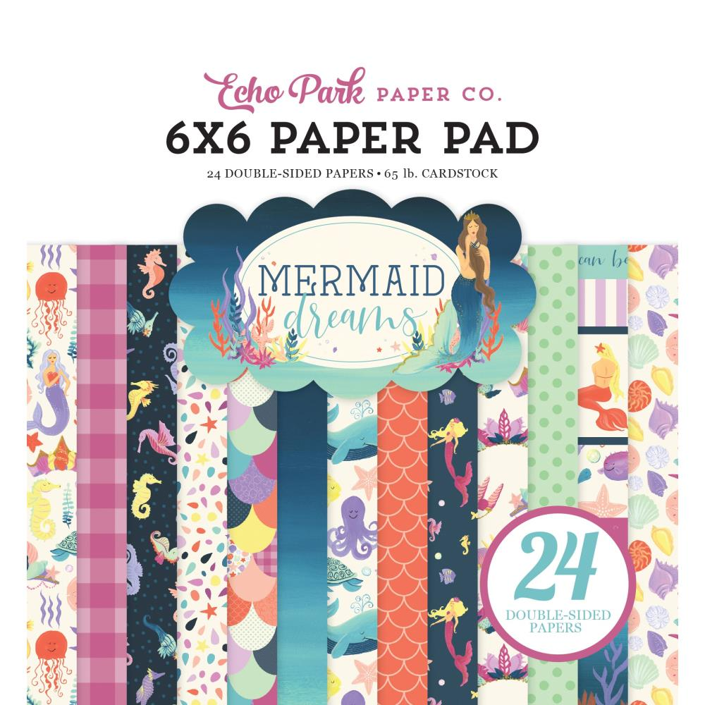Mermaid Dreams 6x6 Paper Pad