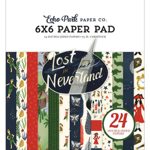 6x6 Paper Pad: Lost in Neverland