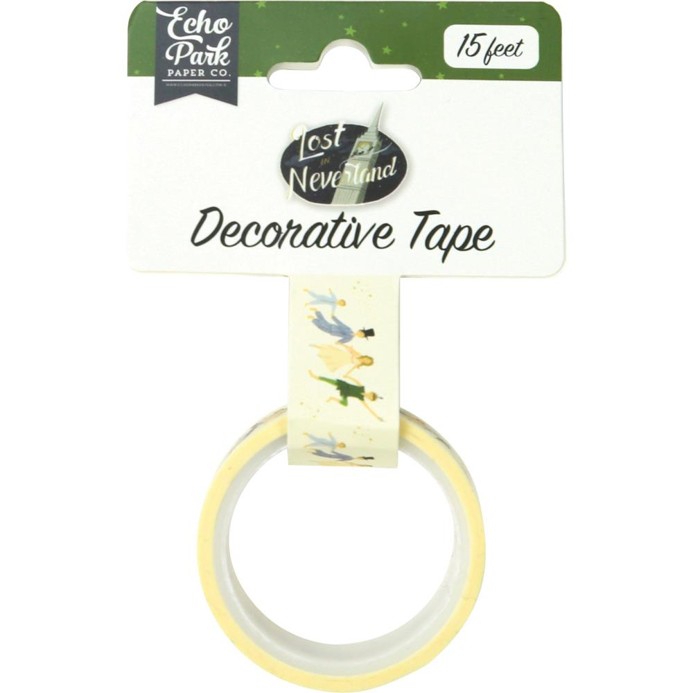 Decorative Tape: Lost in Neverland Off to Neverland
