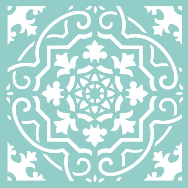 Decorative Dies: Square Card Front 2
