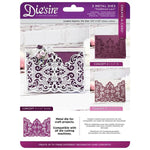 Die'sire Create-A-Card Metal Dies: Traditional Lace