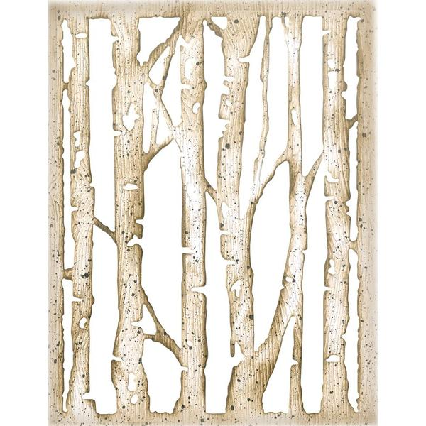Thinlits Die Set: Tim Holtz Branched Birch