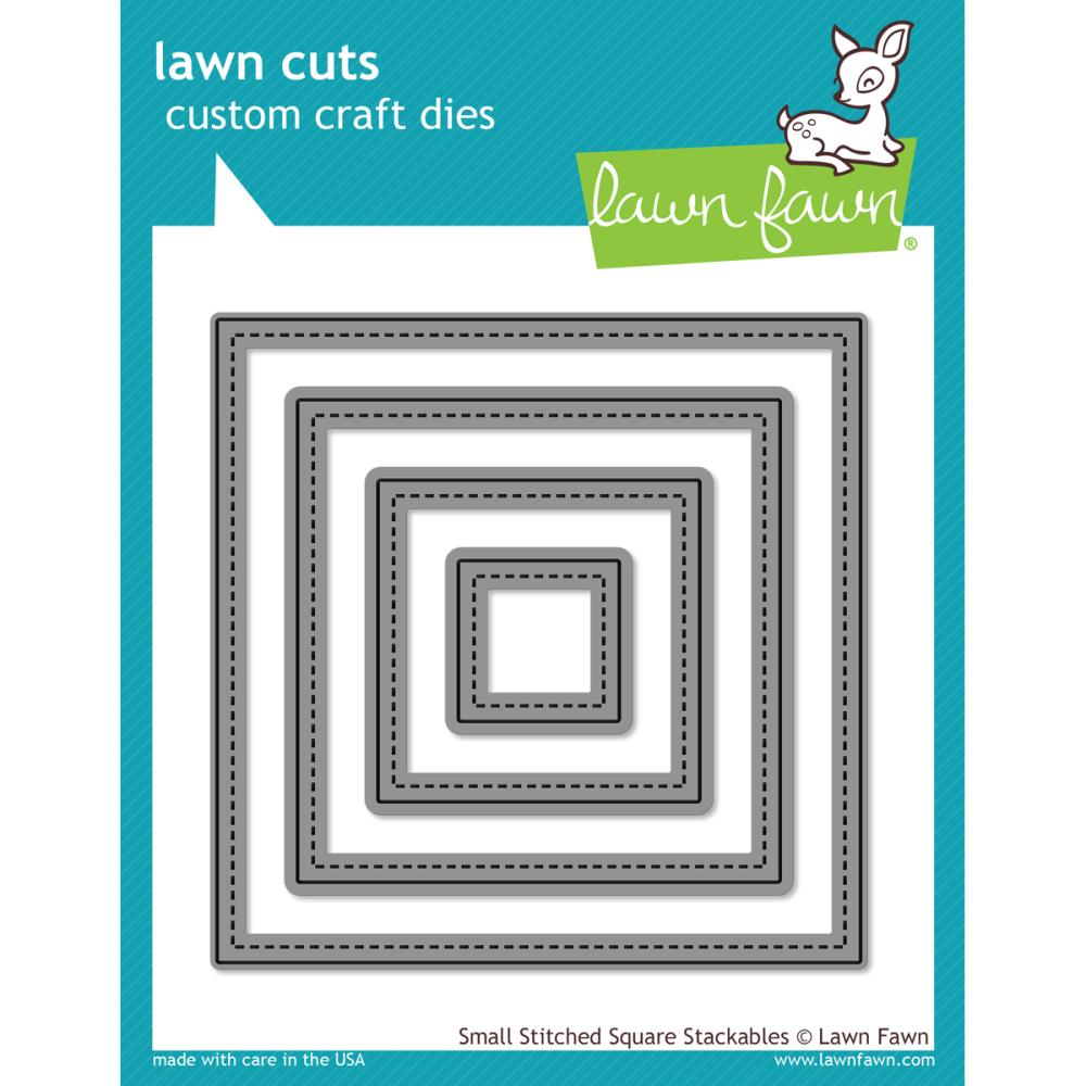 Lawn Cuts: Small Stitched Squares