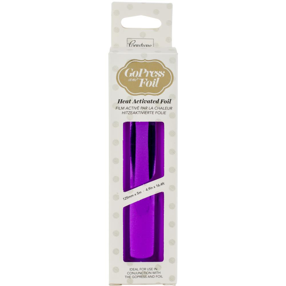 GoPress and Foil Purple Deep Mirror Finish Foil