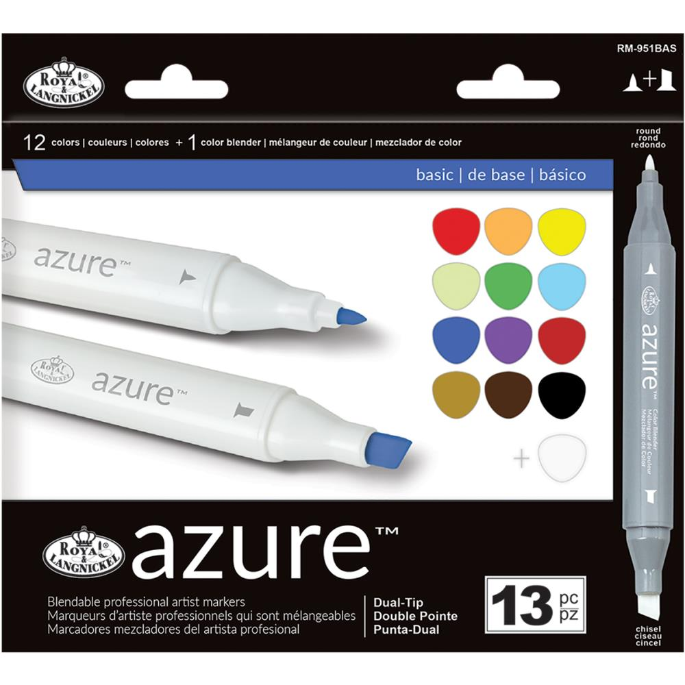 Azure™ Color Marker Set (13PC): Basic