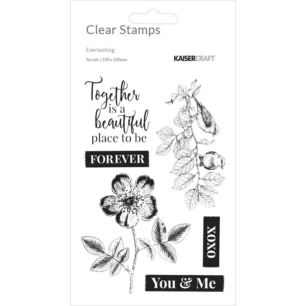 Everlasting 4x6 Clear Stamps