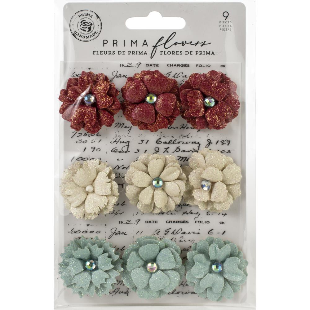 Midnight Garden 11th Hour Mulberry Paper Flowers
