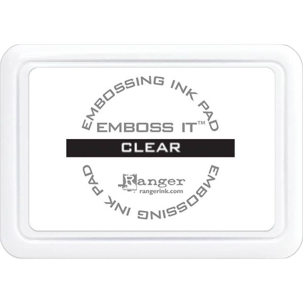 Embossing Ink Pad: Emboss-It (Clear)