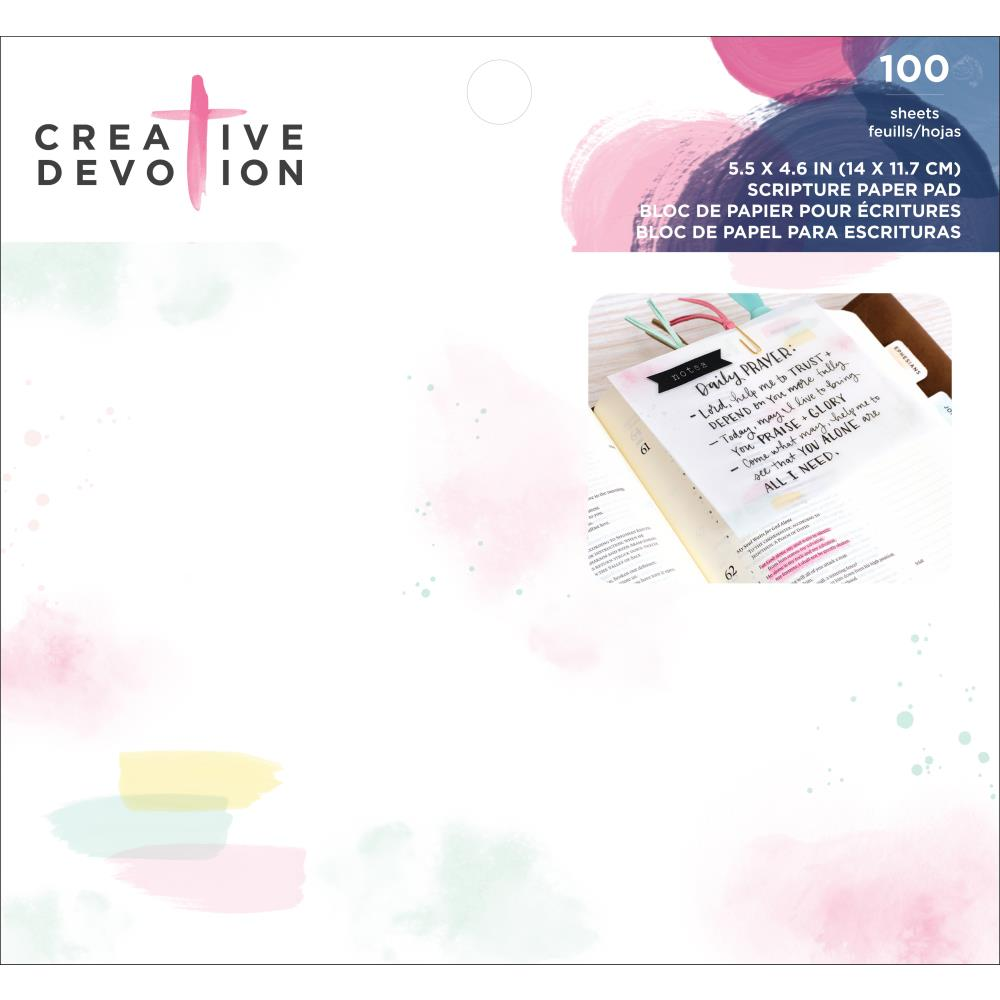 Creative Devotion Paper Pad: Scripture