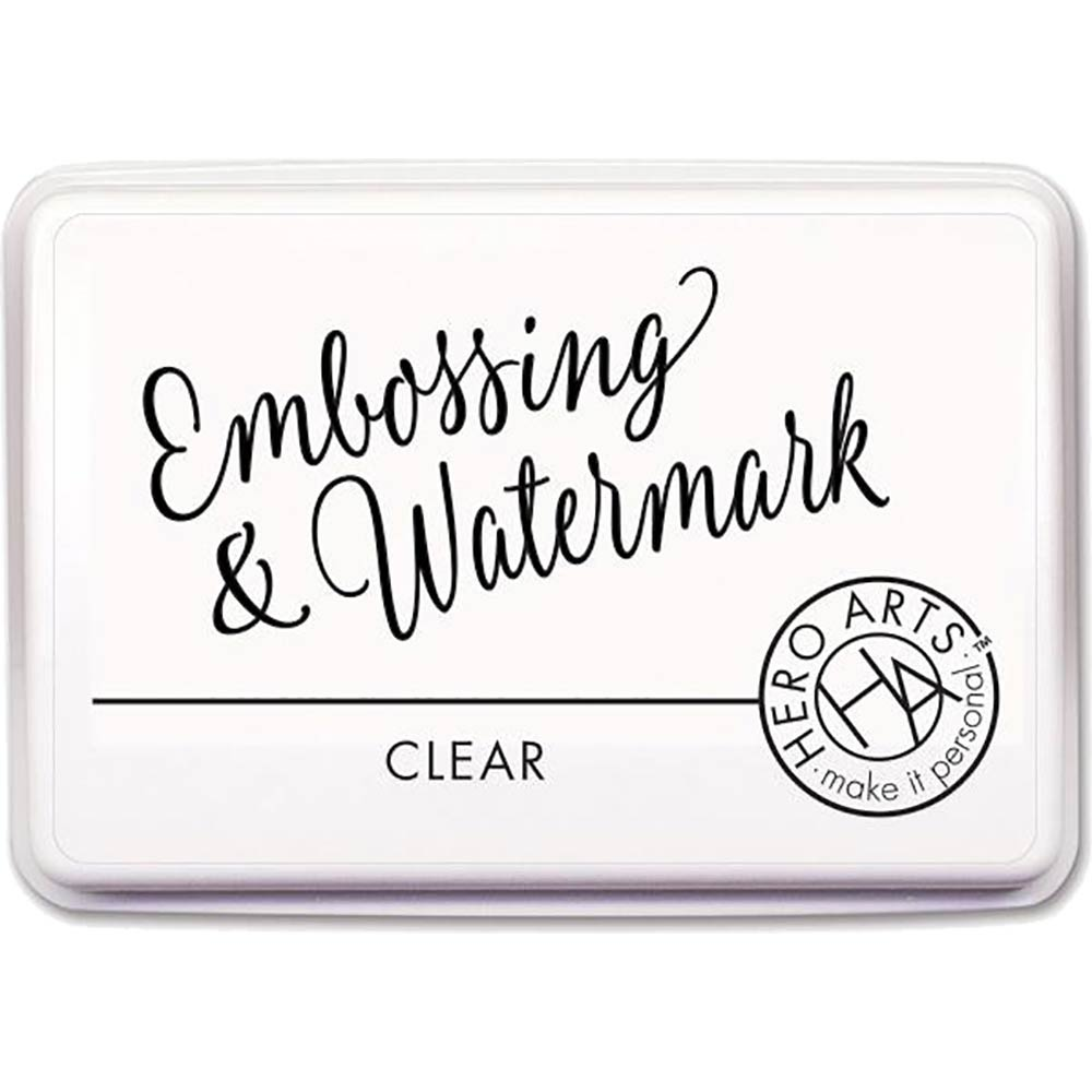 Embossing and Watermark Ink Pad: Clear