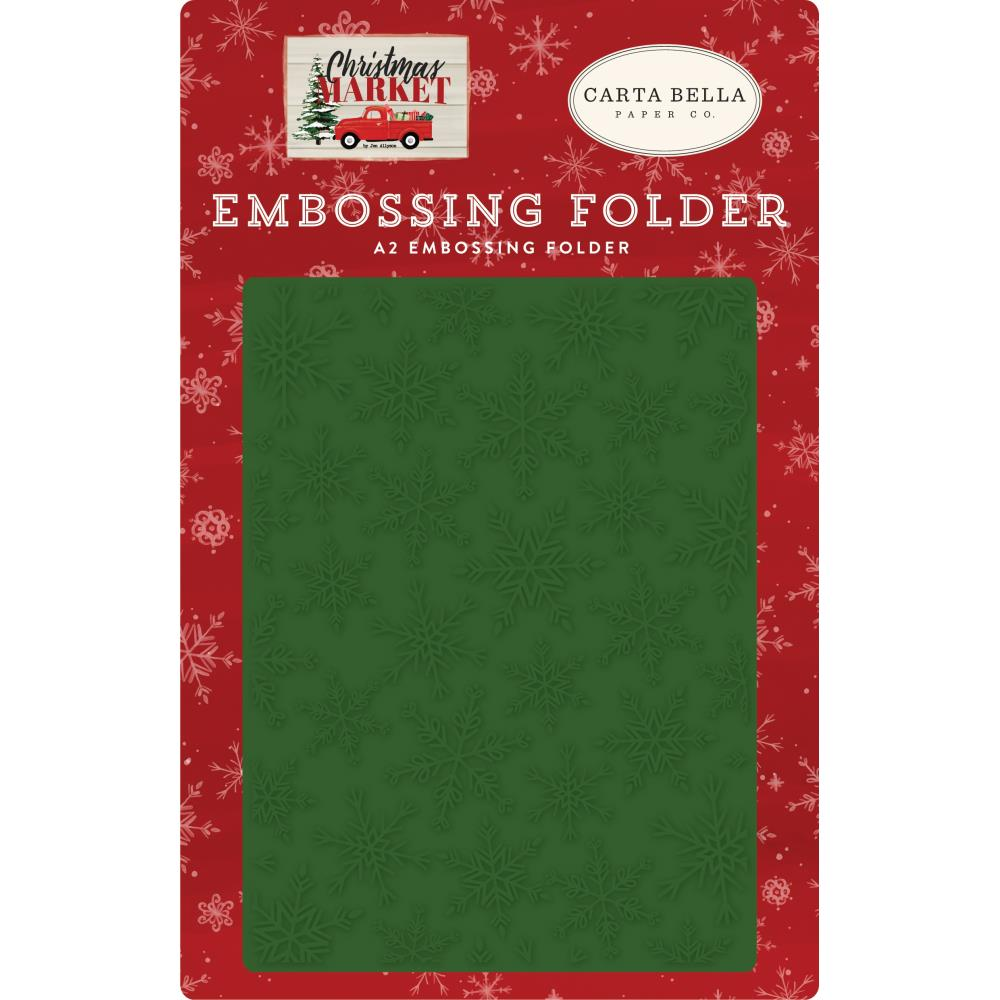 Embossing Folder: Christmas Market (Market Snow)
