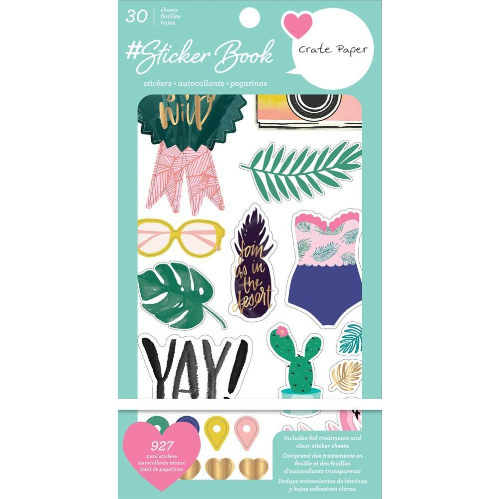 Journal Studio Sticker Book: Crate Paper (927PK)
