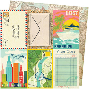 Vicki Boutin Let's Wander 12x12 Paper: Lost in Paradise