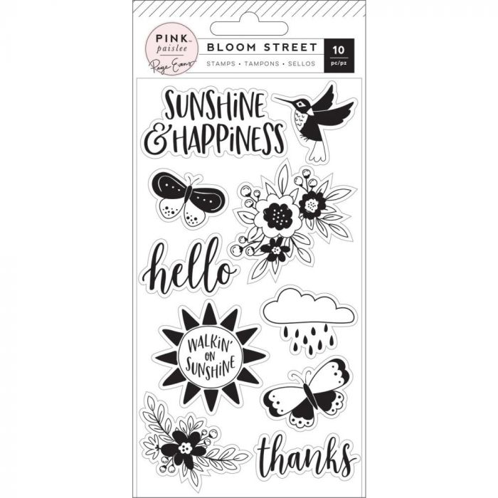 Paige Evans Bloom Street Clear Stamp Set