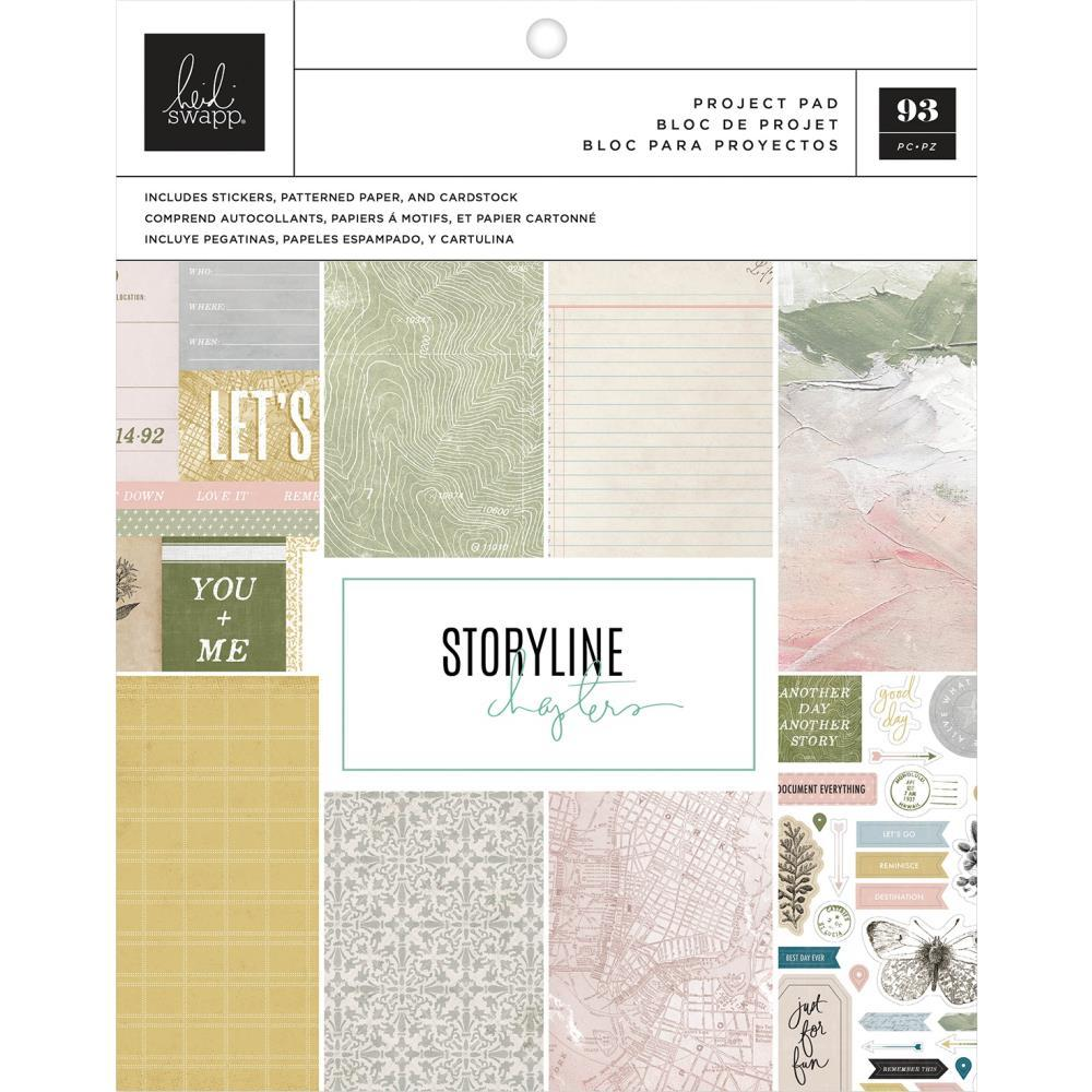 Storyline Chapters The Scrapbooker Project Pad