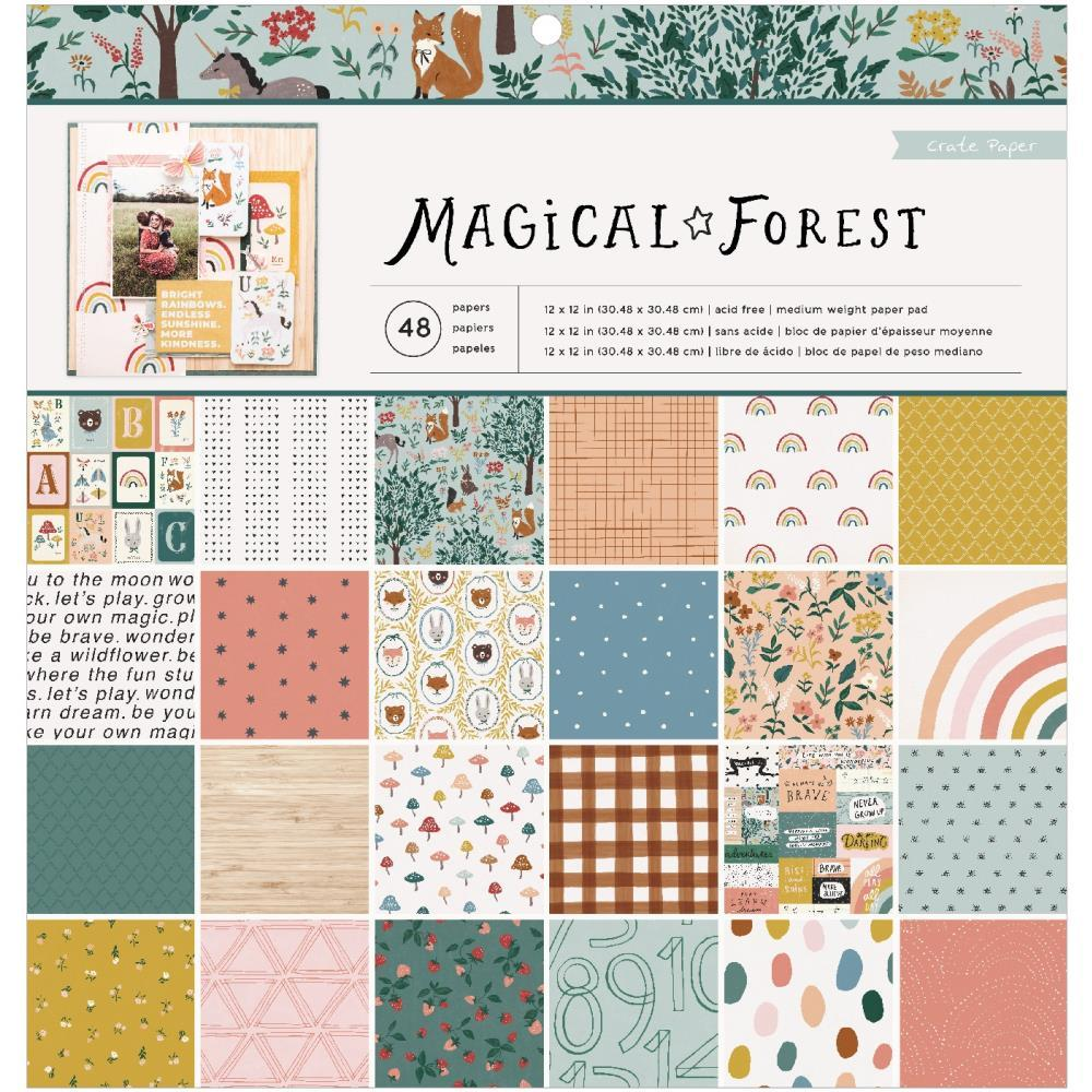 Magical Forest 12x12 Paper Pad
