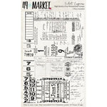 4x6 Clear Stamps: Ticket Express