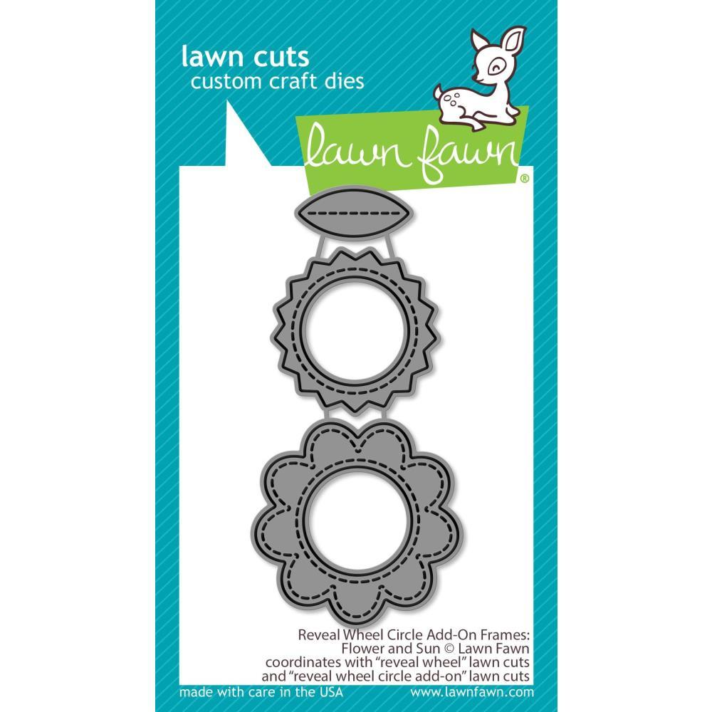 Reveal Wheel Flowers & Sun Add-on Lawn Cuts
